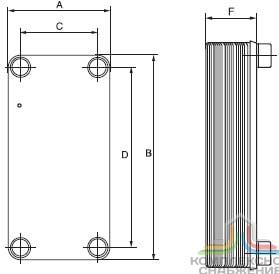 Промывочный аппарат для теплообменников Pump Eliminate 130 v4v Троицк
